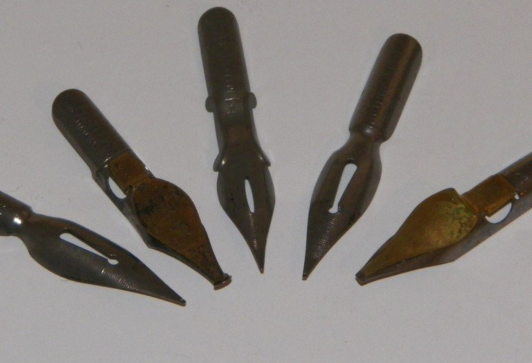 Styles of Calligraphy Pen Nibs