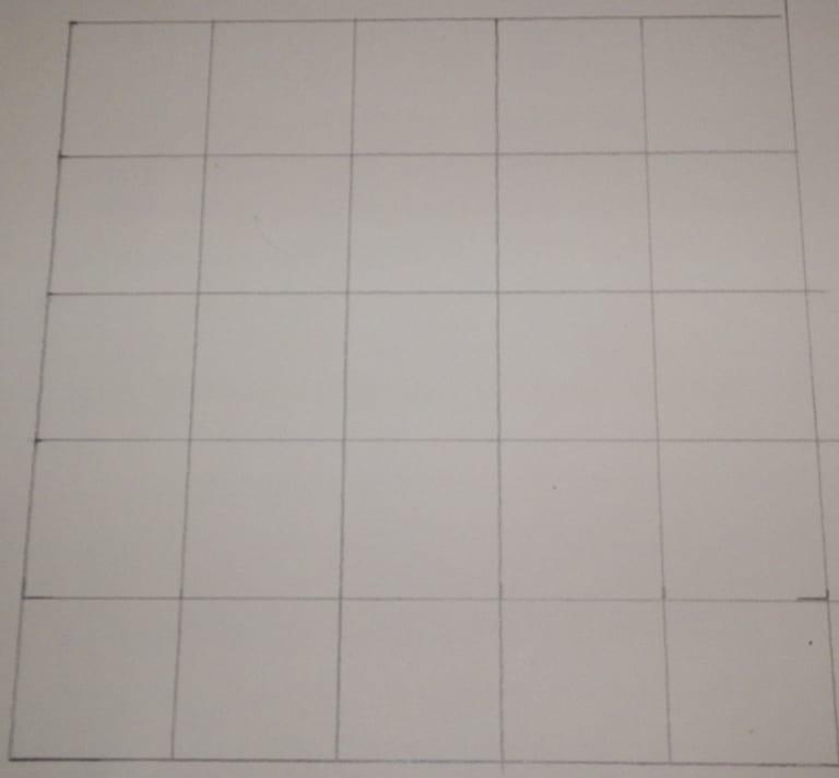 Grid drawing method