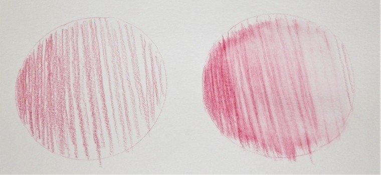 Watercolor pencil strokes techniques